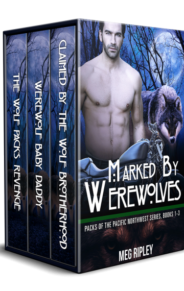 Marked By Werewolves: The Complete Packs Of The Pacific Northwest Series Box Set