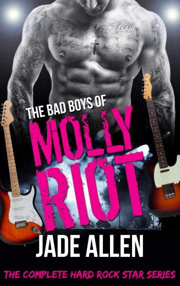 The Bad Boys Of Molly Riot – The Complete Hard Rock Star Series, Books 1-5 (Audiobook Version)
